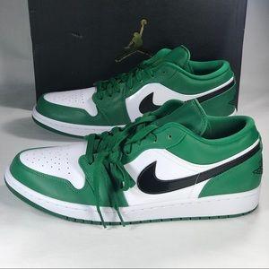 Air Jordan 1 Retro Low Pine Green Men's Sizes